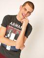 ARMANI EXCHANGE SLIM-FIT EMPIRE STATE LOGO CREW Graphic T-shirt [*** pickupInStoreShippingNotGuaranteed_info ***] a