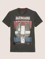 ARMANI EXCHANGE SLIM-FIT EMPIRE STATE LOGO CREW Graphic T-shirt [*** pickupInStoreShippingNotGuaranteed_info ***] r