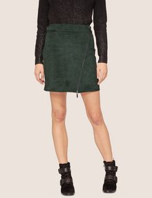 ARMANI EXCHANGE ASYMMETRICAL FAUX-SUEDE SKIRT Mini skirt [*** pickupInStoreShipping_info ***] f