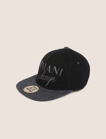 ARMANI EXCHANGE EMBROIDERED SCRIPT LOGO HAT Hat [*** pickupInStoreShippingNotGuaranteed_info ***] f