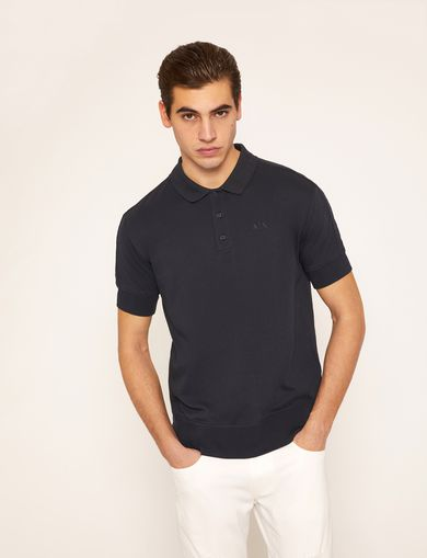 CHANNEL QUILTED BACK POLO