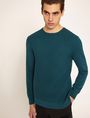 ARMANI EXCHANGE HONEYCOMB KNIT CREWNECK SWEATER Crew Neck Man a