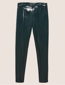 ARMANI EXCHANGE SEAMED PATENT LEGGING Legging [*** pickupInStoreShipping_info ***] r