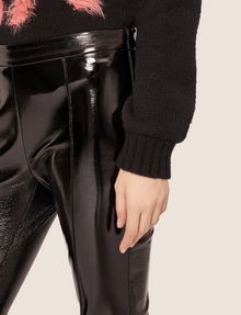 ARMANI EXCHANGE SEAMED PATENT LEGGING Legging [*** pickupInStoreShipping_info ***] b
