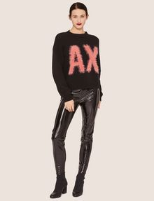 ARMANI EXCHANGE SEAMED PATENT LEGGING Legging [*** pickupInStoreShipping_info ***] d