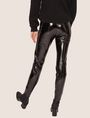 ARMANI EXCHANGE SEAMED PATENT LEGGING Legging [*** pickupInStoreShipping_info ***] e