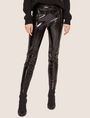 ARMANI EXCHANGE SEAMED PATENT LEGGING Legging [*** pickupInStoreShipping_info ***] f