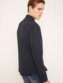 ARMANI EXCHANGE SLIM-FIT CHANNEL QUILTED SHIRT Plain Shirt Man e