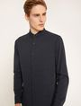 ARMANI EXCHANGE SLIM-FIT CHANNEL QUILTED SHIRT Plain Shirt Man f