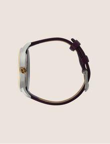 ARMANI EXCHANGE Uhr mit glattem Lederband Fashion Watch [*** pickupInStoreShipping_info ***] a