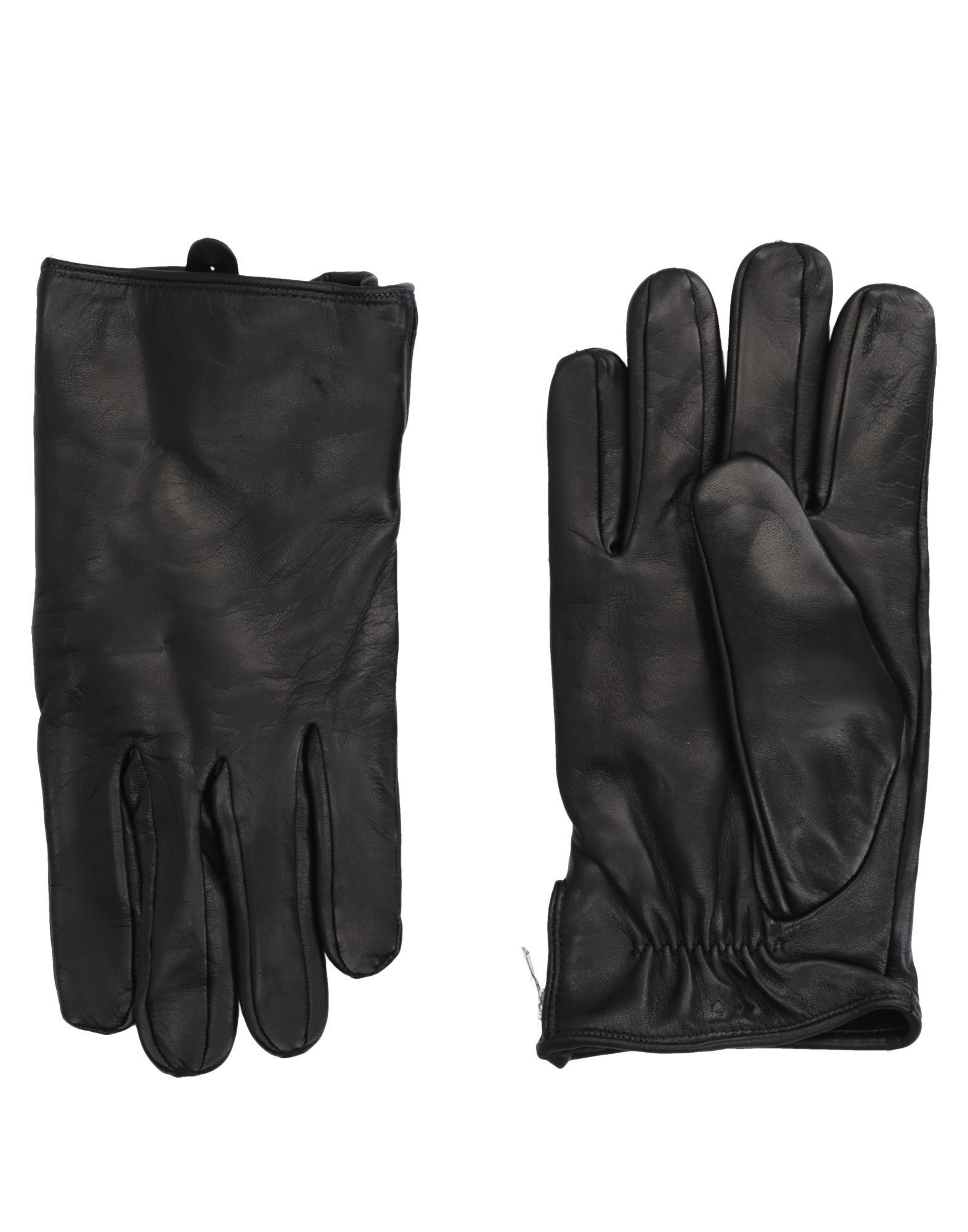 《送料無料》ROYAL REPUBLIQ メンズ 手袋 ブラック 9 革