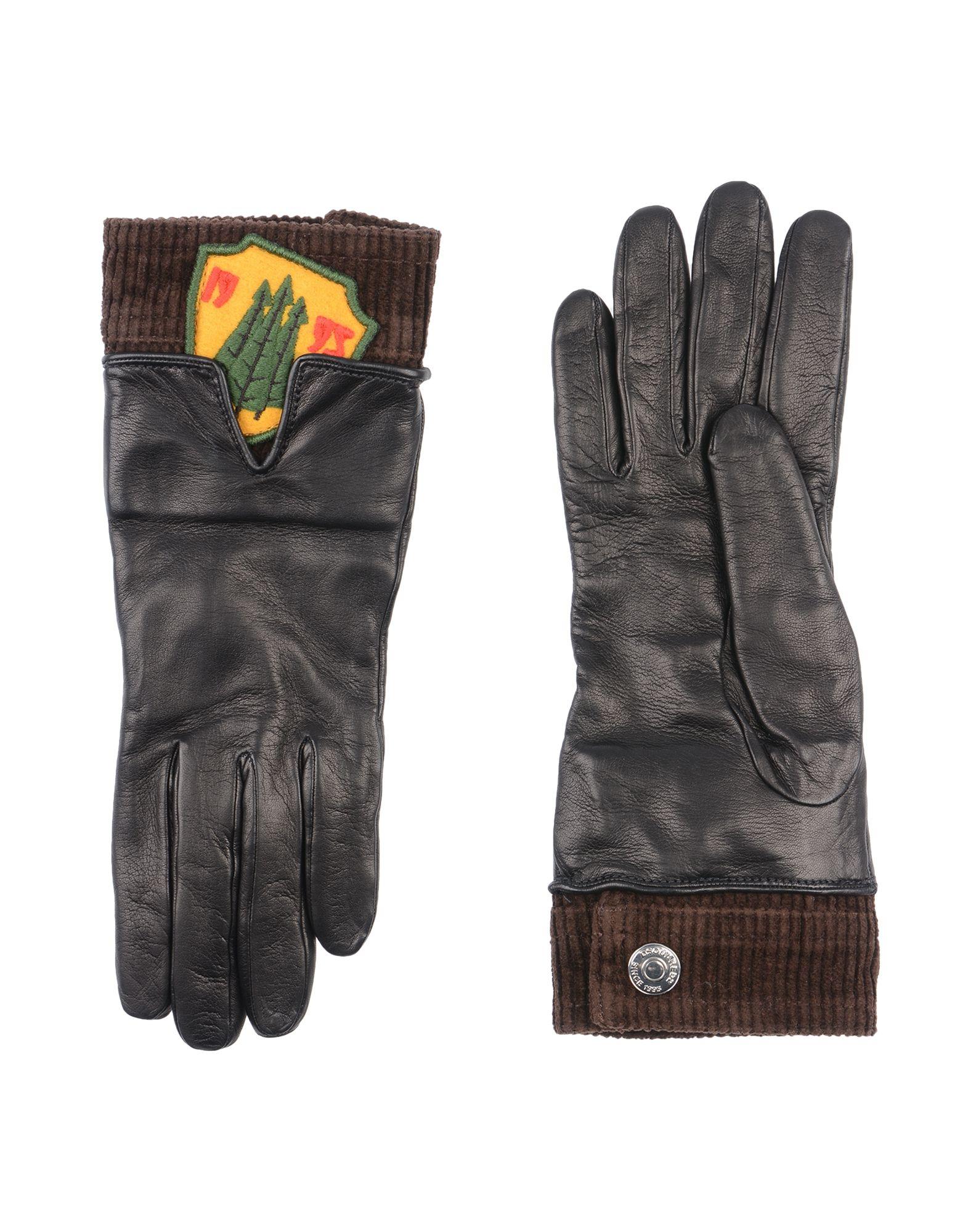 DSQUARED2 Damen Handschuhe Farbe Schwarz Größe 4