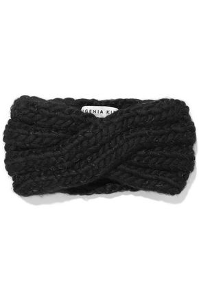 EUGENIA KIM Lula cable-knit wool-blend headband