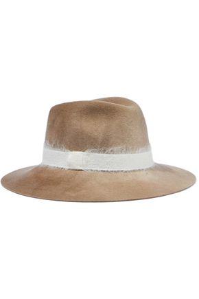 EUGENIA KIM グログラントリム ウール ソフト帽