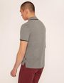 ARMANI EXCHANGE LOGO TAPE QUARTER-ZIP POLO SHORT SLEEVES POLO Man e
