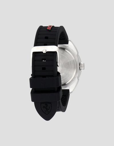 Scuderia Ferrari Online Store - Orologio multifunzione Forza con quadrante nero - Orologi al Quarzo