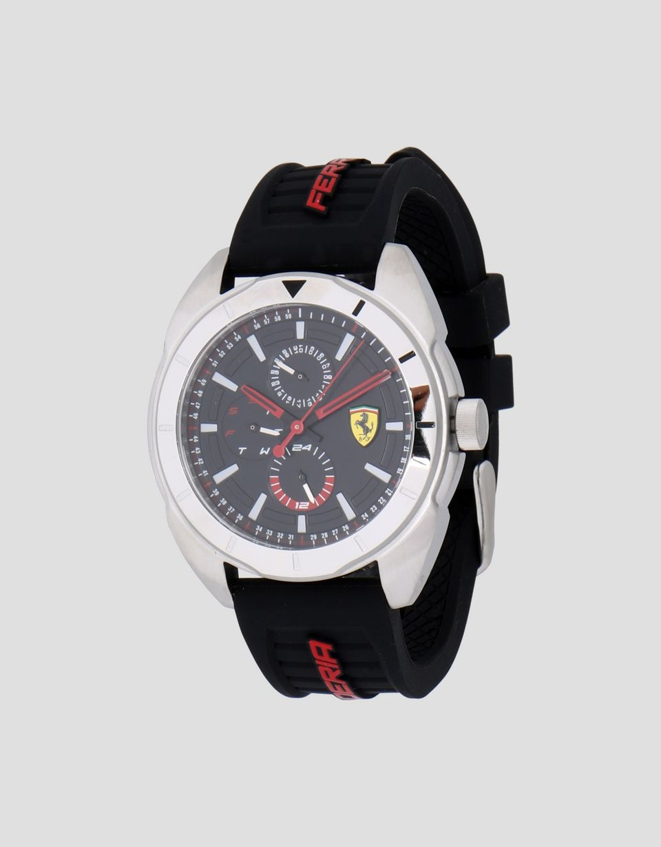 Scuderia Ferrari Online Store - Forza multifunctional watch with black dial -