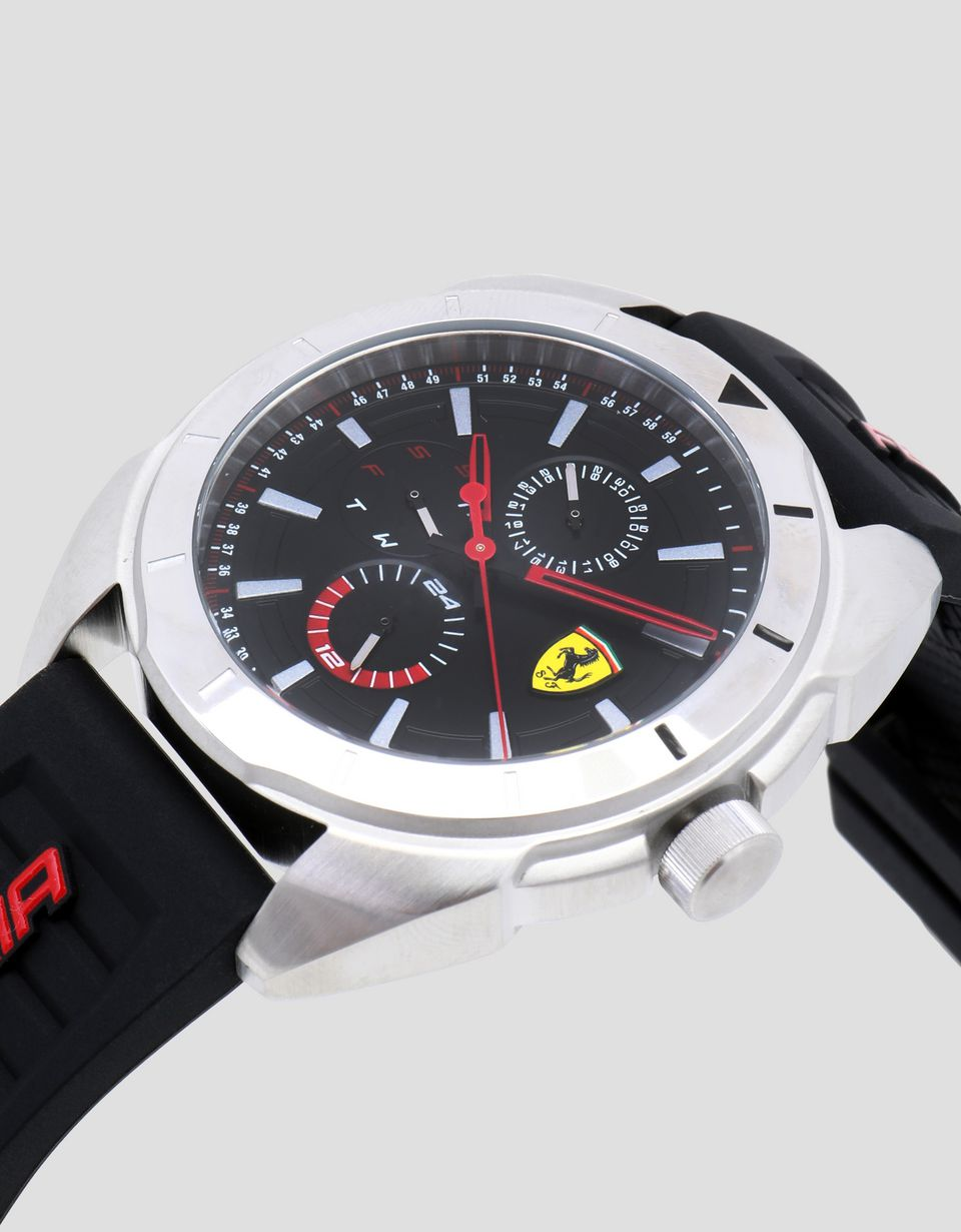 Scuderia Ferrari Online Store - Forza multifunctional watch with black dial - Quartz Watches