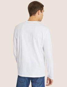ARMANI EXCHANGE REGULAR-FIT CIRCLE LOGO LAYERING CREW Logo T-shirt [*** pickupInStoreShippingNotGuaranteed_info ***] e