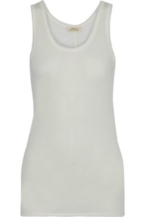 ANA HEART Harper Supima cotton-jersey tank