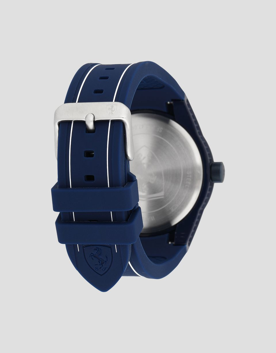 Scuderia Ferrari Online Store - RedRev watch in blue with white detailing - Quartz Watches