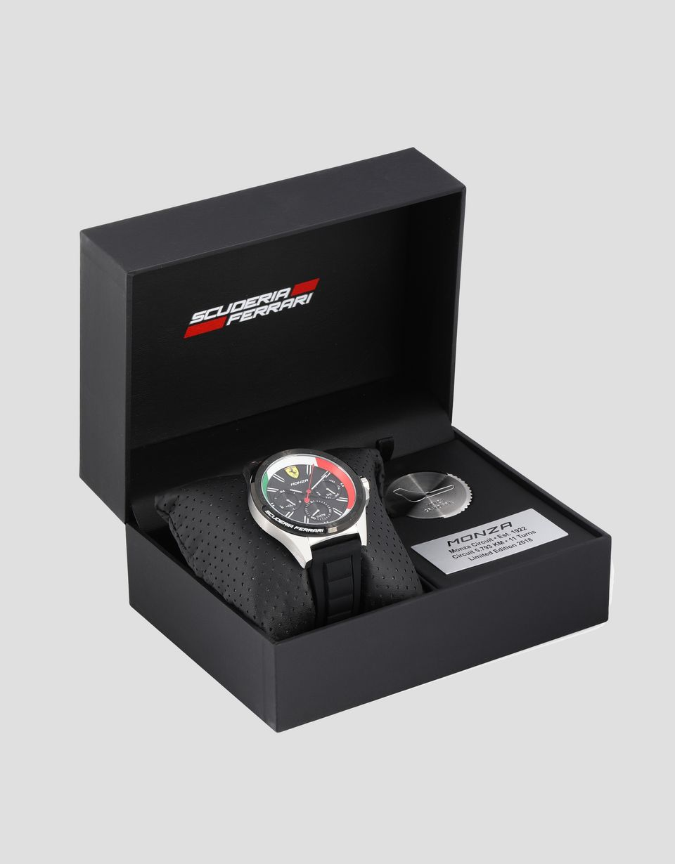 Scuderia Ferrari Online Store - Monza Pilota Watch Limited Edition - Chrono Watches