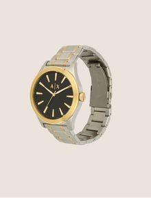 ARMANI EXCHANGE Stahluhr mit kontrastierenden goldenen Details Fashion Watch [*** pickupInStoreShippingNotGuaranteed_info ***] d