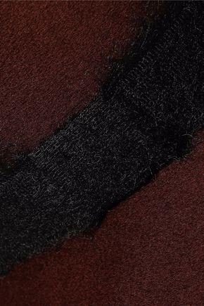 EUGENIA KIM Georgina brushed woven-trimmed wool-felt fedora