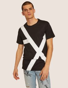 ARMANI EXCHANGE T-SHIRT LOOSE-FIT CON LOGO A|X OVERSIZE T-shirt grafica Uomo f