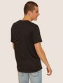 ARMANI EXCHANGE LOOSE-FIT OVERSIZED LINE LOGO CREW Graphic T-shirt Man e