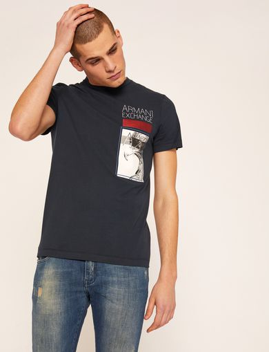 ARMANI EXCHANGE T-shirt graphique Homme F