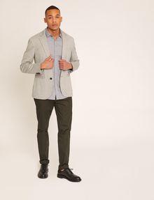 ARMANI EXCHANGE SLIM-FIT MICRO-STRIPE LOGO SHIRT Striped Shirt [*** pickupInStoreShippingNotGuaranteed_info ***] d