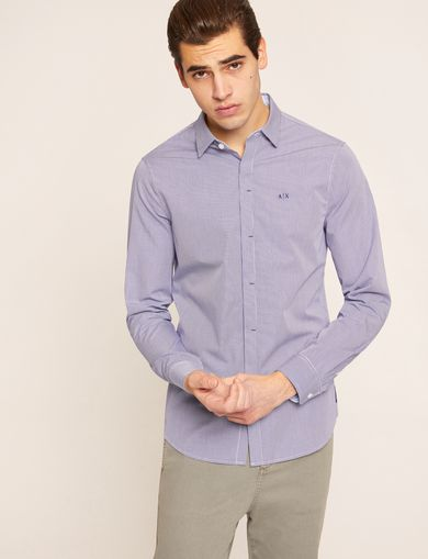 ARMANI EXCHANGE Checked Shirt Man F