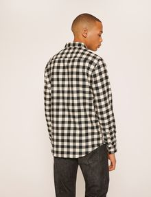 ARMANI EXCHANGE REGULAR-FIT CHECK FLANNEL SHIRT Checked Shirt [*** pickupInStoreShippingNotGuaranteed_info ***] e