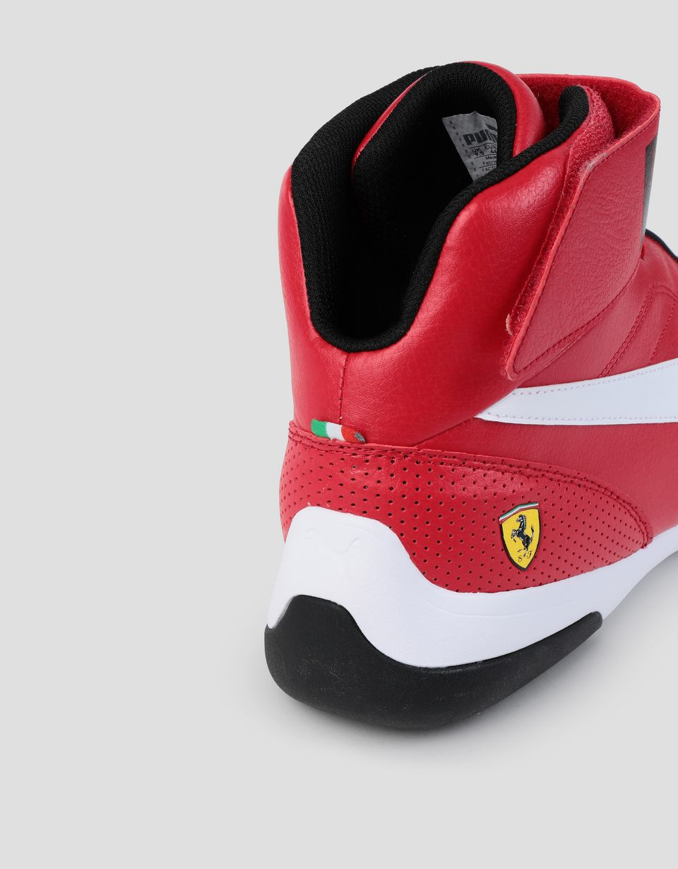 Scuderia Ferrari Online Store - SF Puma Kart Cat Mid III shoes for men - Active Sport Shoes