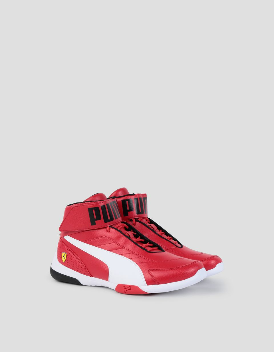 Scuderia Ferrari Online Store - Men s SF Puma Kart Cat Mid III shoes -  Active Sport ... 47e3a0674