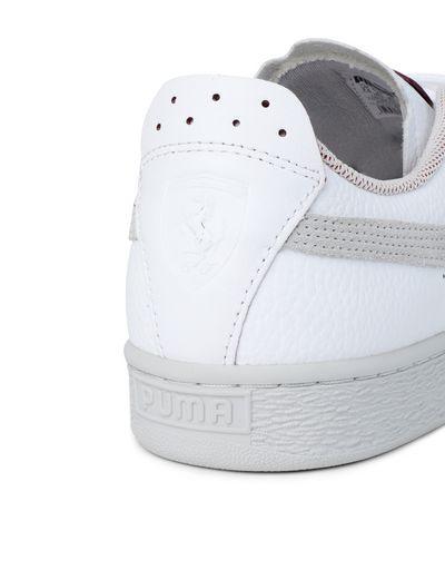 Scuderia Ferrari Online Store - 运动鞋 Puma SF Basket LS - 运动鞋