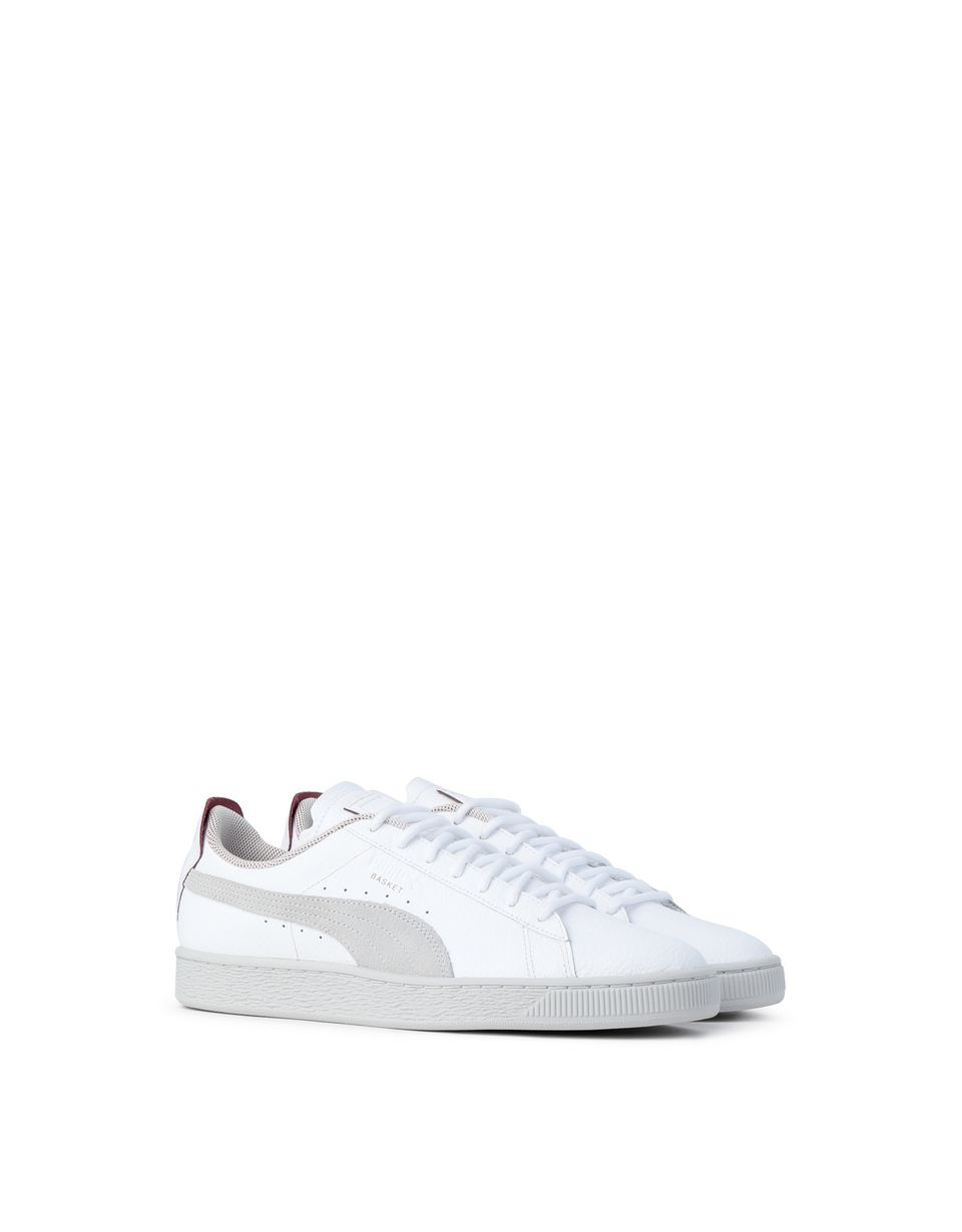 Scuderia Ferrari Online Store - Men's SF Puma Basket LS shoes - Sneakers