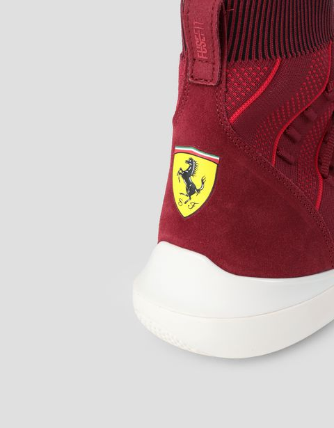 Scuderia Ferrari Online Store - Мужские кроссовки Puma Evo Cat Sock Fusefit - Active Sport Shoes