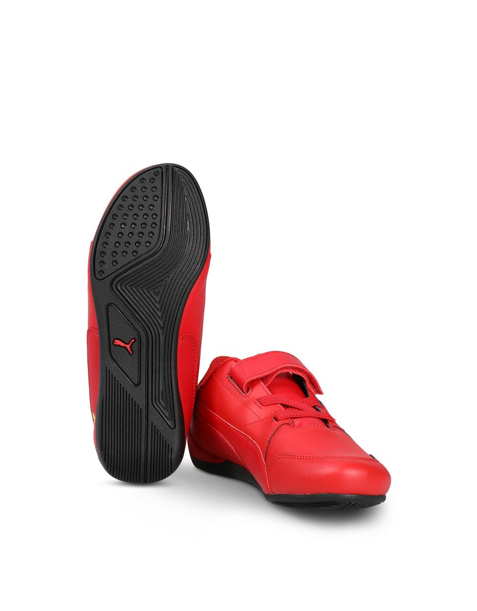 Scuderia Ferrari Online Store - SF Puma Drift Cat V shoes for children - Active Sport Shoes