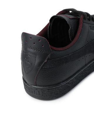 Scuderia Ferrari Online Store - Puma SF Basket LS shoes - Sneakers