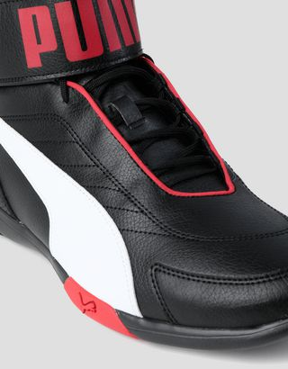 Scuderia Ferrari Online Store - Puma Scuderia Ferrari Kart Cat Mid III men's sneakers - Active Sport Shoes