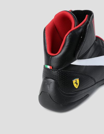 Scuderia Ferrari Online Store - Puma Scuderia Ferrari Kart Cat Mid III shoes for men - Active Sport Shoes