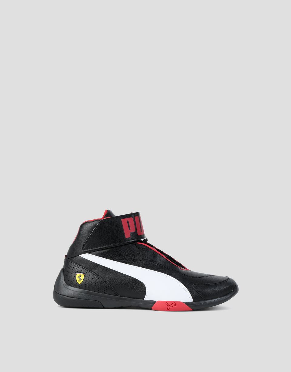 Scuderia Ferrari Online Store - Men's SF Puma Kart Cat Mid III shoes - Active Sport Shoes