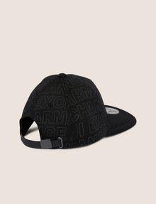 ARMANI EXCHANGE ALLOVER LOGO HAT Hat Man r