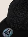 ARMANI EXCHANGE ALLOVER LOGO HAT Hat Man d