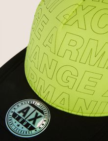 ARMANI EXCHANGE ALLOVER LOGO HAT Hat [*** pickupInStoreShippingNotGuaranteed_info ***] d