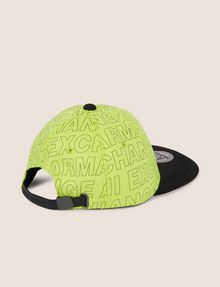 ARMANI EXCHANGE ALLOVER LOGO HAT Hat [*** pickupInStoreShippingNotGuaranteed_info ***] r