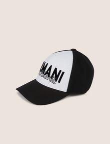 ARMANI EXCHANGE STITCHED DECO LOGO HAT Hat Man f