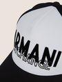 ARMANI EXCHANGE STITCHED DECO LOGO HAT Hat Man d